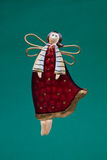 Christmas tree decoration - angel Royalty Free Stock Images