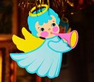 Christmas tree decoration, angel Stock Image