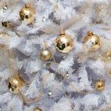 Christmas tree decoration background Stock Images