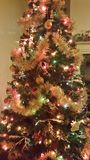 Christmas Tree Decoration Background Stock Photos