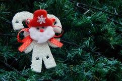 Christmas tree decoration background Royalty Free Stock Photography
