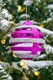 Christmas tree decoration ball Royalty Free Stock Photos