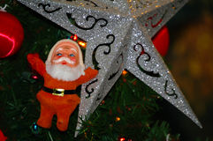 Christmas tree decoration Stock Photos