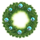 Christmas Tree Decoration. EPS 8 Royalty Free Stock Photo