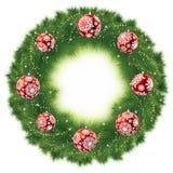 Christmas Tree Decoration. EPS 8 Stock Images