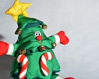 Christmas tree figure Royalty Free Stock Image