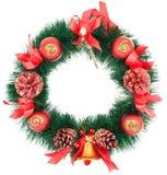 Christmas Tree Decoration garland Royalty Free Stock Photo
