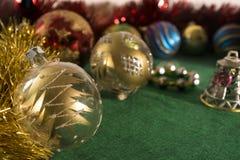 Christmas tree decoration. High resolution image Royalty Free Stock Photos