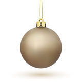Christmas Tree decoration isolated on white Royalty Free Stock Photography
