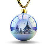 Christmas tree decoration isolated on white Stock Photography