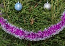Christmas tree decoration Royalty Free Stock Photography