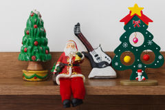 Christmas tree decoration Santa Claus Stock Image