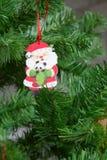Christmas tree decoration Santa Royalty Free Stock Photos