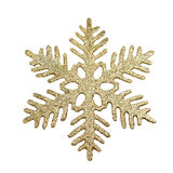 Christmas tree decoration snowflake Royalty Free Stock Photography