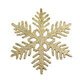 Christmas tree decoration snowflake Royalty Free Stock Photography