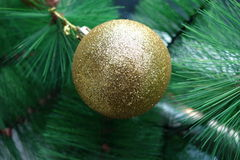Christmas tree decoration Royalty Free Stock Photography