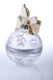 Christmas tree decoration on white Stock Images