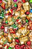 Christmas tree decoration. Winter holidays background Royalty Free Stock Photo
