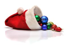 Christmas-tree decorations. Isolated on white Royalty Free Stock Image