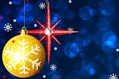 Christmas-tree decorations Stock Photography