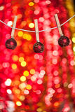 Christmas tree decorations Royalty Free Stock Photo