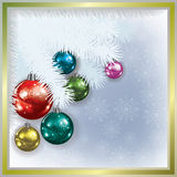 Christmas tree and decorations Stock Photos