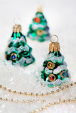 Christmas tree decorations Stock Photo
