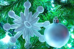 Christmas Tree Decorations Stock Images