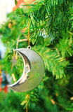 Christmas tree with decorations Royalty Free Stock Photography