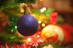 Christmas-tree decorations. Stock Photography