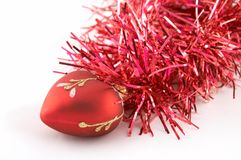 Christmas-tree Decorations Stock Image