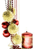 Christmas-tree decorations Stock Images