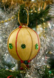 Christmas tree decorations. Something differnet some nice handmade christmas tree decorations royalty free stock photography
