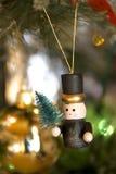 Christmas tree decorations Stock Image