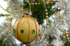 Christmas tree decorations. Something different some nice handmade christmas tree decorations royalty free stock photography