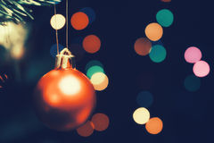 Christmas tree decorations Royalty Free Stock Photos