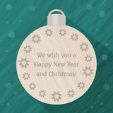 Christmas tree decorations ball Stock Photography