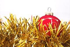 Christmas-tree decorations balls stock photo