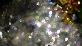 Christmas Tree Decorations stock video