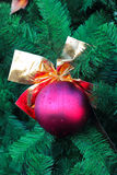 Christmas-tree decorations. Royalty Free Stock Photo