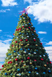 Christmas-tree with decorations. Stock Images