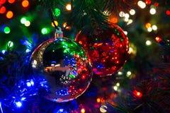 Christmas Tree decorations Royalty Free Stock Image