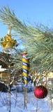 Christmas tree decorations Stock Photos