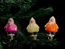 Christmas-tree decorations from glass Stock Photo