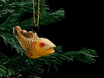 Christmas-tree decorations from glass Royalty Free Stock Image