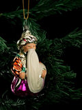 Christmas-tree decorations from glass Royalty Free Stock Photo