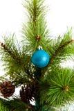 Christmas-tree decorations. 2016 happy new year Royalty Free Stock Photo