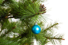 Christmas-tree decorations happy new year Stock Photo