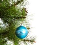 Christmas-tree decorations happy new year. Christmas-tree decorations xmas postcard design Stock Photo