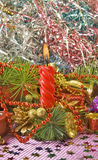 Christmas tree decorations Royalty Free Stock Photography